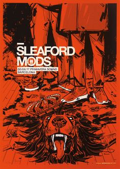 Mods Barcelona Poster by Spiegelsaal Sleaford