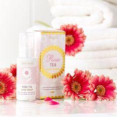 Bath House Handcrème Rose Tea