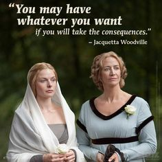 There's a heavy price to pay to be #TheWhiteQueen