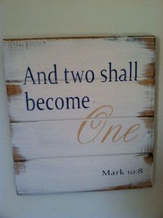 And two shall become one by CreateYourselfFinds on Etsy