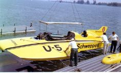 """MISS SCHWEPPES"" (U-5) 1969 APBA Gold Cup (28') V12 Rolls-Royce Merlin Powered Unlimited Hydroplane - Owned by Joe Schoenith"