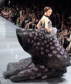 Galliano's talent and extravagance!