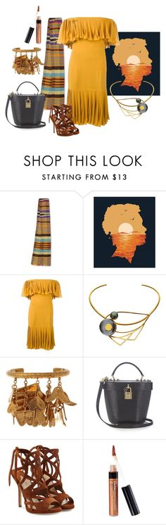 """""""Anansi"""" by pampire ❤ liked on Polyvore featuring NOVICA, Monde Mosaic, Jean-Louis Scherrer, LeiVanKash, Chloé, Dolce&Gabbana, Paul Andrew and Bare Escentuals"""