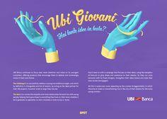 UBI Giovani - Hai tante idee in testa? on Behance