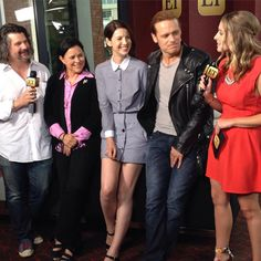 """Entertainment Tonight on Instagram: """"The #Outlander cast and crew are dishing on fan reactions and Season 2. #SDCC #SDCC2015"""""""