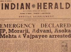 Going back to the darkest hours of Indian democracy