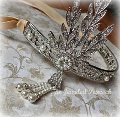 Hey, I found this really awesome Etsy listing at https://www.etsy.com/listing/223254204/rhinestone-wedding-headpiece-tiara-crown