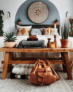 Home bedroom boho bohemian interior 39 Ideas for 2019 Home Decor Bedroom, Living Room Decor, Bedroom Colors, Bedroom Furniture, Bedroom Ideas, Bedroom Neutral, Furniture Decor, Bedroom Rustic, Bedroom Loft