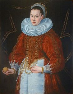 Anton Möller, Portrait of a Gdańsk female patrician, 1593