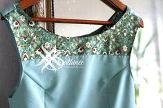 Robes en viscose et coton couleur pastel