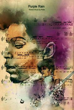 Very cool Prince art...by Vicki Hale.                                                                                                                                                      More