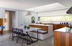Integral Island Banquette  Inspiration | KitchAnn Style