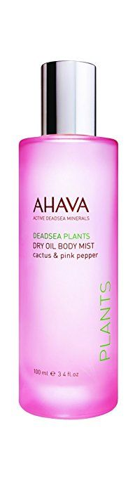 AHAVA Dry Oil Body Mist Cactus And Pink Pepper, 3.4 fl. oz. Review