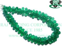 Green Onyx Faceted Drops (Quality A) / to mm / 8 to 10 Grms / 18 cm / by GemstoneWholesaler on Etsy Green Onyx, 18th, Drop, Shapes, Etsy, Jewelry, Jewels, Schmuck, Jewerly