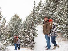 Winter Engagement Session | Snowy Engagement Session | Seattle Wedding Photographers | Salt & Pine Photography | www.saltandpinephoto.com | #winter #engaged #engagement #inspiration #snow