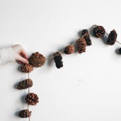 pinecone garland: http://www.amymerrick.bigcartel.com/product/pinecone-garland