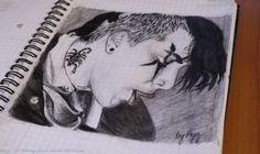 aggsart:Frank Iero (My Chemical Romance)