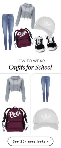"""back to school"" by wiesbeeke on Polyvore featuring Paige Denim and Topshop"