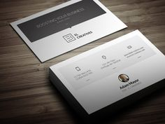 Soft Corporate Business Card by bouncy on Creative Market
