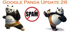 Google Panda is back again with new Google Panda update 26, officially confirmed by Matt  Cutts. #GooglePandaUpdate #PandaUpdate #GoogleUpdate #GooglePandaUpdate26