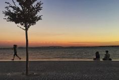 Lisboetas Rio, Celestial, Sunset, Outdoor, Lisbon, City, Tejidos, Outdoors, Sunsets