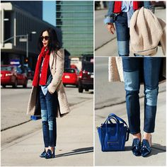 Color Blocked Denims (by Hallie S.) http://lookbook.nu/look/4575697-Color-Blocked-Denims