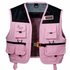 Choose a palentologist vest or safari vest for kids. Also great for explorers and as a fishing vest. Great for Dino Dan, Diego and Dinosaur Train fans. Pink Fishing Gear, Fishing Vest, Fishing Girls, Gone Fishing, Fishing Hole, Fishing Stuff, Kayak Fishing, Safari Vest, Fishing Tournaments