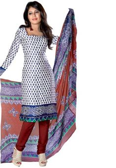 Fabdeal Women's Indian Designer Wear Printed Salwar White & Blue Fabdeal,http://www.amazon.com/dp/B00FSAL6JG/ref=cm_sw_r_pi_dp_FtKqtb0HFXAYVDR4