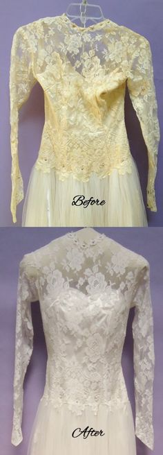 Restore an old wedding gown for a truly vintage wedding dress...