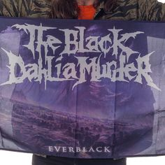 "The Black Dahlia Murder ""Everblack Flag"" at http://www.indiemerchstore.com"