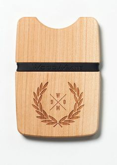 Customised design - Perfect measurements - BE A WOOD.MATE #woodwallet #hipster