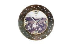 Gixxer's Double Trouble    Brake Disc Clock by SprockWorx on Etsy