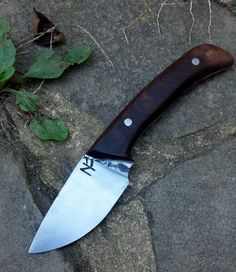 Handmade Skinning Knife by NafzgerForge on Etsy, $110.00