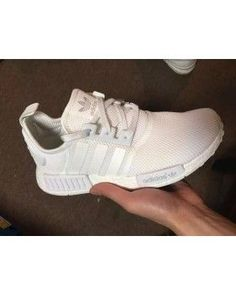 Adidas Originals NMD All White where to buy authentic adidas nmd runner womens mens originals white ttriple All White Adidas Shoes, Black Friday Shoes, Adidas Shoes Nmd, Adidas Nmd, Discount Sneakers, Cheap Sneakers, Cheap Shoes, Shoes Sneakers, Nike Clearance Store