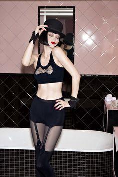 "martysimone: "" Chantal Thomass x Damart Lingerie Délicate, Lingerie Vintage, Delicate Lingerie, Luxury Lingerie, Black Lingerie, Chantal Thomass, Witch Fashion, Indie Brands, Luxury Branding"