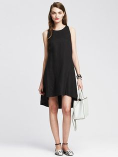 Linen Trapeze Dress Product Image