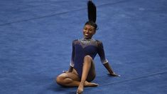 Nia Dennis: US gymnast's 'black excellence' routine goes viral - BBC News