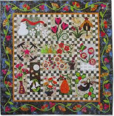 A Year of Applique Block of the Month - Stitchin' Heaven is your premier Texas quilt shop