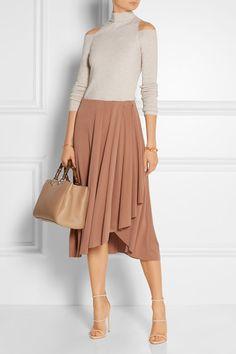 Light-brick modal-blend Slips on 60% modal, 40% polyester; internal trim: 85% polyester, 15% elastane Hand wash