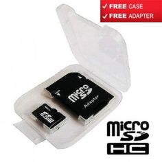 32GB MEMORY CARD MICRO SD ★ WITH ADAPTER ★ CASE for Phone Tablet PC CP109