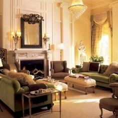 Victorian Living Room Interior Design Ideas, Home Interior Interior Design Living Room, Victorian Interior Design, Home Interior Design, House Design, Interior Decorating Pictures, Victorian Home Decor, Interior Design, House Interior, Victorian Living Room