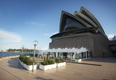 Opera Point Marquee on Sydney harbour foreshore