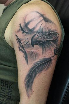 Bald Eagle Tattoo Designs - Bing Images dad wants an eagle tattoo - until now this is his favorite