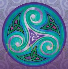 The sacred Spiral and her triple manifestation symbolize the ancient Earth Goddess and her seasonal cycles