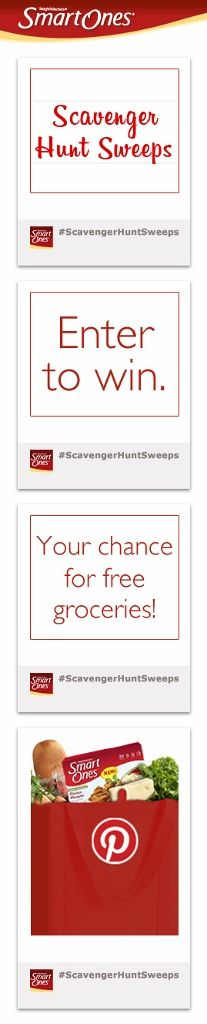 #Smart Ones, #Scavenger Hunt Sweeps, #Free groceries