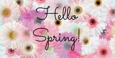 L'hiver est fini, voilà enfin le printemps !