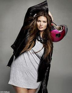 f69218809b4e Tara Lynn Elle France Curvy Issue Modelli Di Moda