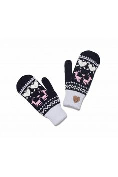 Femi Pleasure mittens ABADI color norway
