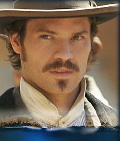"Timothy Olyphant as sheriff Seth Bullock on ""Deadwood"""