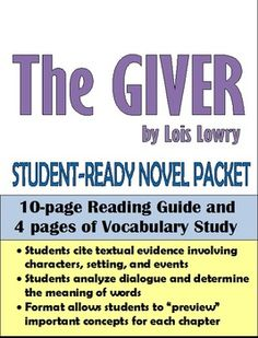 the giver chapter 14 pdf